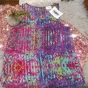 EVERLY MULTI COLORED TOP